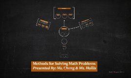 Methods for Solving Math Problems