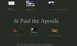 St Paul the Apostle