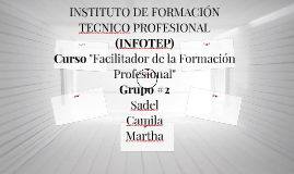 INSTITUTO DE FORMACIÓN TECNICO PROFESIONAL (INFOTEP)
