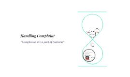 Handling Complaint