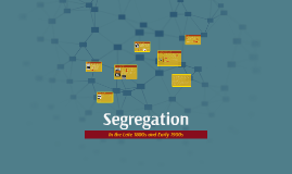 Copy of Segregation in the Early 1900s