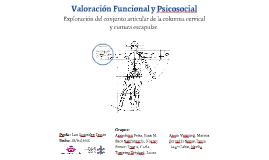 Valoración Funcional y Psicosocial