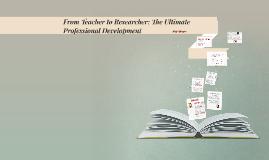 Copy of Researcher Profile: Joanne de Groot