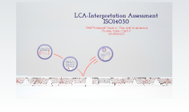 Copy of LCA-Interpretation Assessment