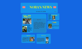 Copy of NORA'S NEWS