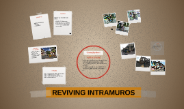 REVIVING INTRAMUROS