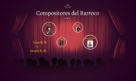 Copy of Compositores del Barroco
