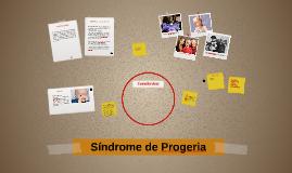 Síndrome de Progeria