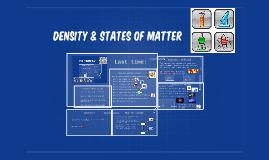 Density & States of Matter