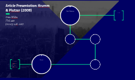 Article Presentation: Krumm & Plutzar (2008)
