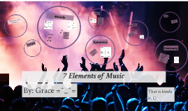 7 Elements of Music