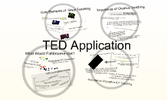 TED Application