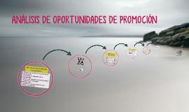 ANÁLISIS DE OPORTUNIDADES DE PROMOCIÓN