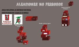 ALEACIONES NO FERROSOS