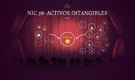NIC 38- ACTIVOS INTANGIBLES-CARLOS