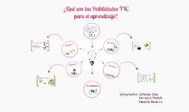 Habilidades TIC para el aprendizaje