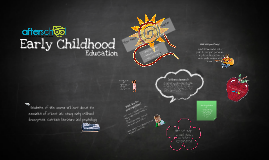 Early Childhood Education: Become a partner in learning & encourage children to be their best
