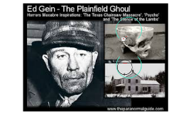 ed gein serial killer or murderer essay Incredible stories, facts, and trivia from the world of serial killers based on the real-life murderer ed gein that a serial killer was at.
