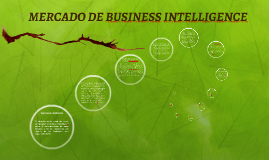 MERCADO DE BUSINESS INTELLIGENCE