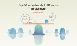 Copy of Los 10 secretos de la Riqueza Abundante