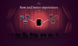 New and better experiences