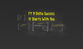 FY 14 Delta Success