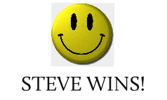steve wins