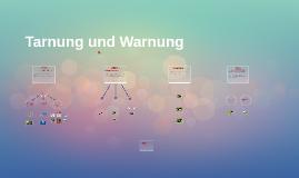 Tarnung und Warnung