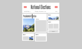 National Elections
