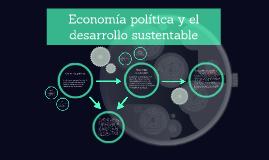 Economía política y el desarrollo sustentable