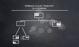 Copy of MEMBRANA CELULAR Y TRANSPORTE EN LA MEMBRANA