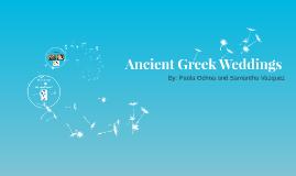 Ancient Greek Weddings