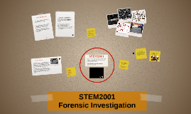 STEM2001 Forensic Investigation