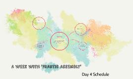 Day 4 - Schedule