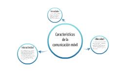 Características de la comunicación móvil