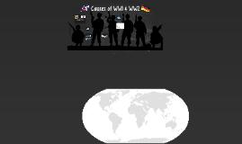 Causes of WW & WW2