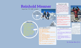 Copy of Reinhold Messner