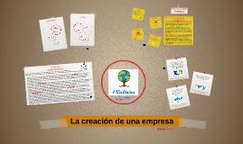 La creación de una empresa