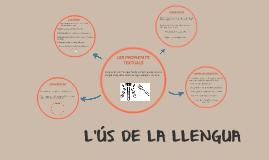 L'ÚS DE LA LLENGUA
