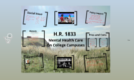 Mental Health Care on College Campus