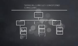 TEORIAS DEL CURRICULO Y CONCEPCIONES CURRICULARES