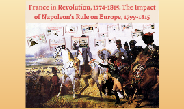 France in Revolution, 1774-1815: The Impact of Napoleon's Ru