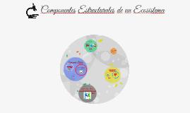 Copy of Componentes Estructurales de un Ecosistema