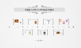 LIRICA DE LA POSGUERRA