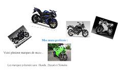 Mes moto préférée