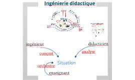 Ingénierie didactique