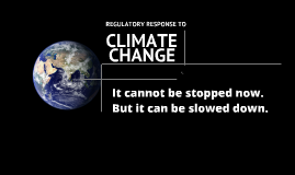 Copy of Copy of Overview of Climate Change
