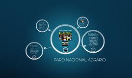 EL PARO NACIONAL AGRARIO