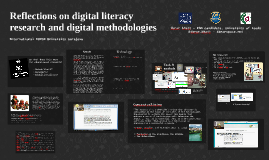 Reflections on digital literacy research and digital methodologies (BURCH International University, Sarajevo, Bosnia & Herz), 9th Oct 2014