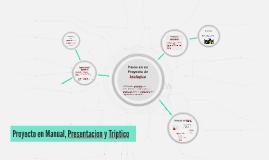 Proyecto en Manual, Presentacion y Triptico